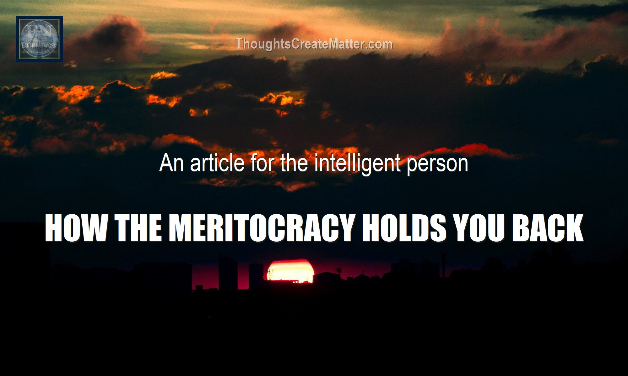 dark sky depicts meritocracy-meaning-definition-problems-the-cost-of