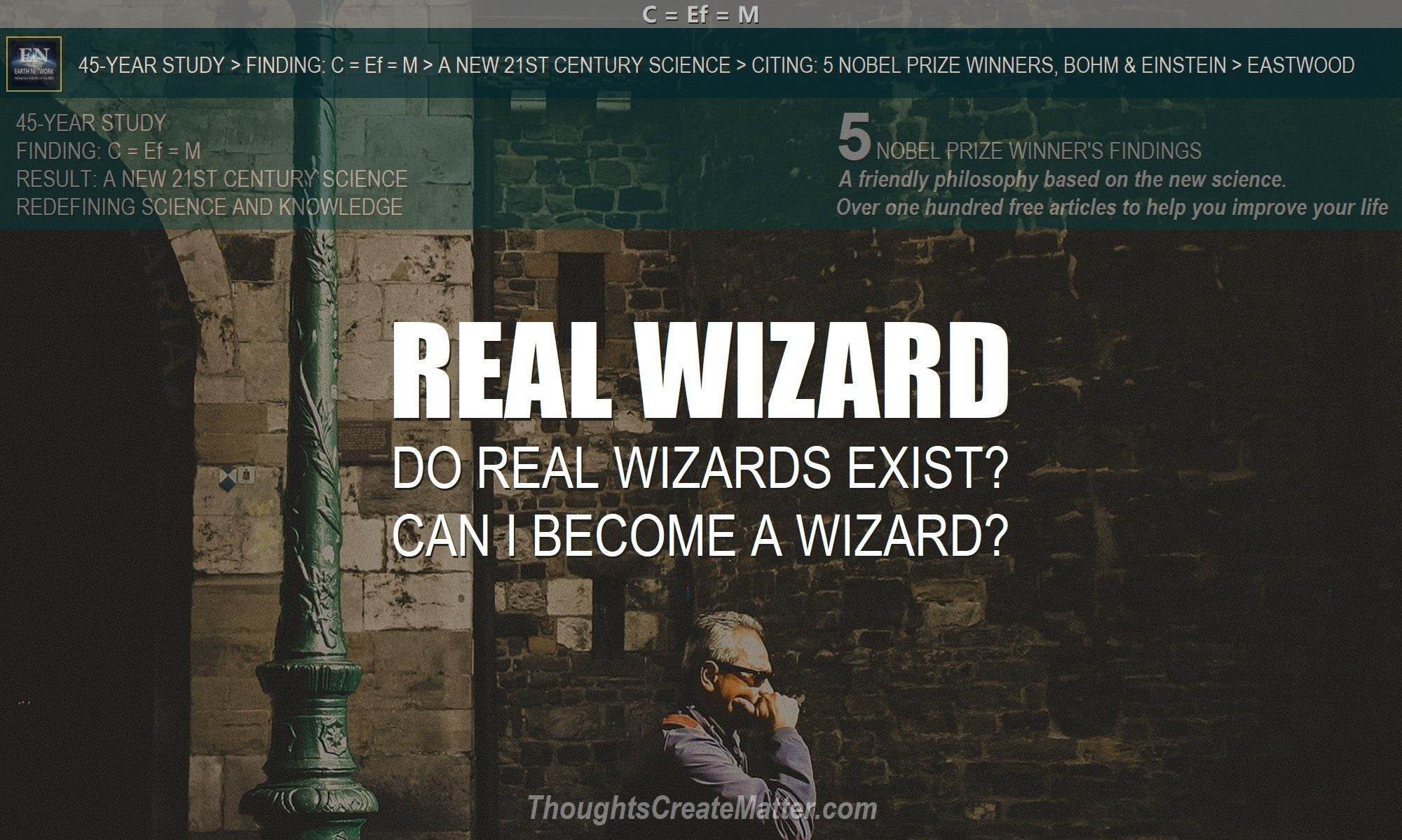 A man who is a real wizard depicts how you can become a real wizard.