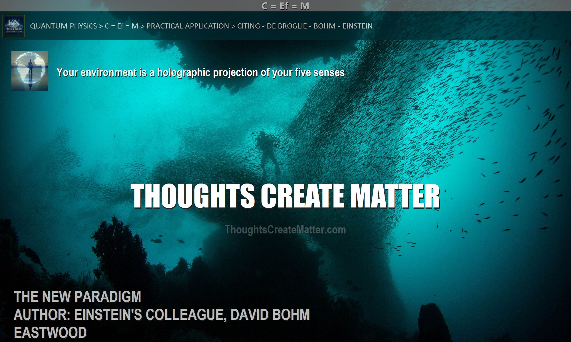 Man-depicts-question-Do-thoughts-create-matter-can-consciousness-creates-matter-reality-scientific-facts-proof-evidence