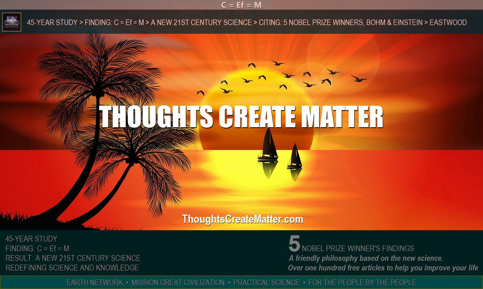 Paradise makes one wonder do-my-thoughts-create-my-reality-can-my-consciousness-manifest-reality