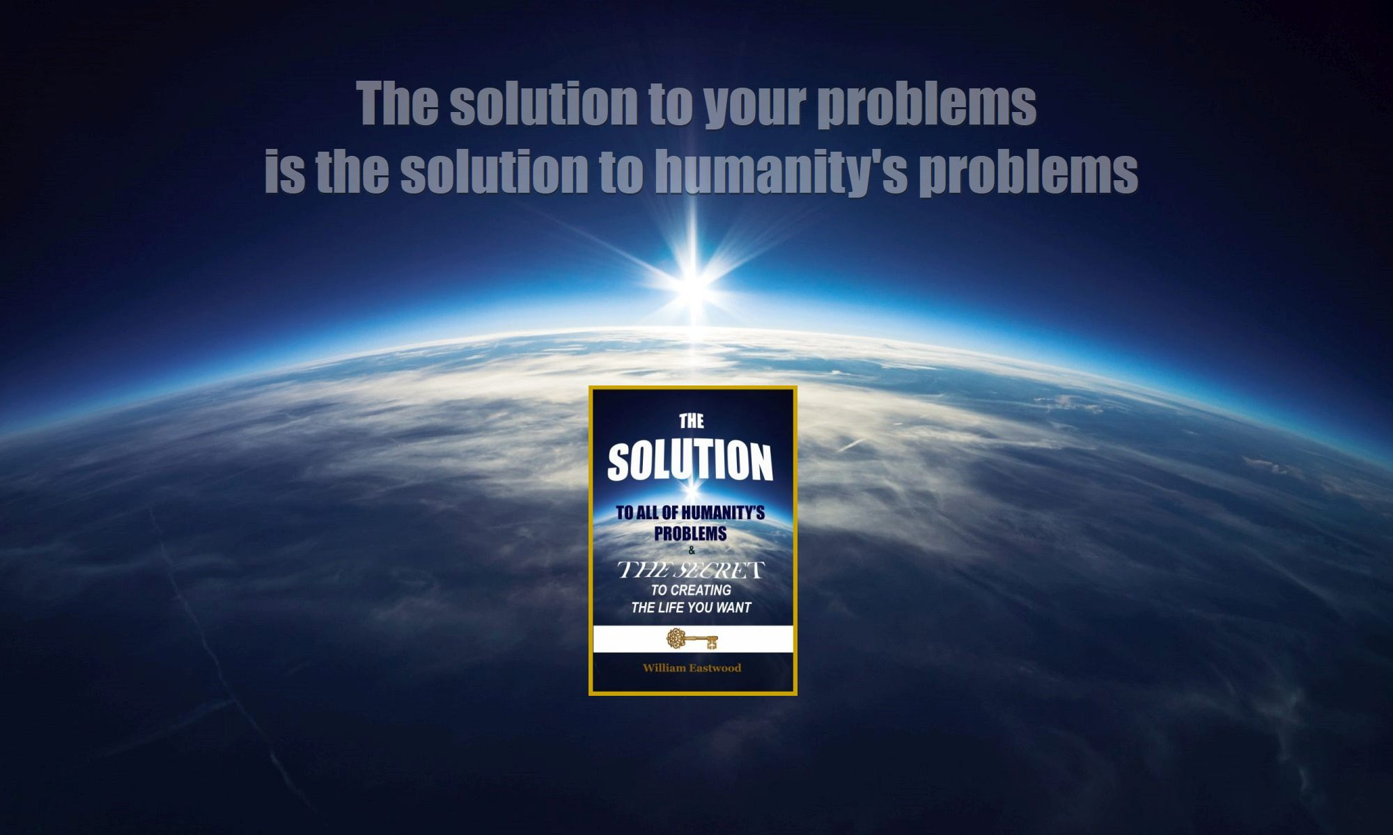The solution over earthrise