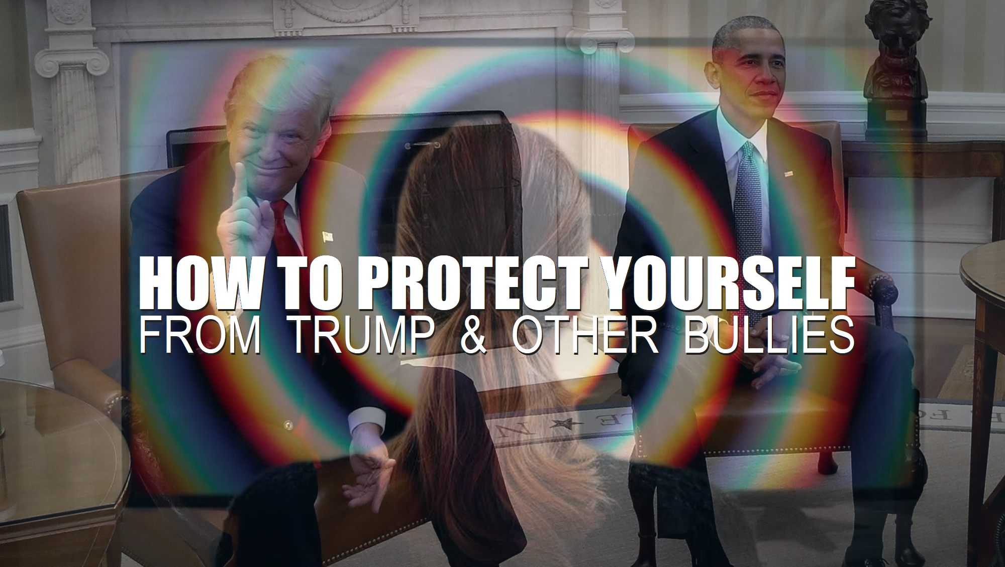 Trump-and-obama-depict-how-to-protect-yourself-from-Trump-other-bullies-metaphysical-principles-problem-solving