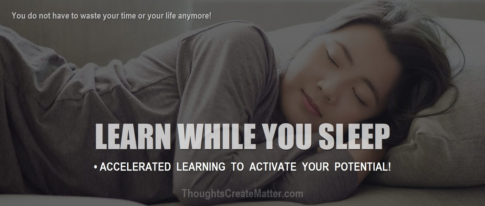 Woman sleeping shows how you can get best-new-metaphysical-ebooks-for-accelerated-learning-manifesting-while-you-sleep