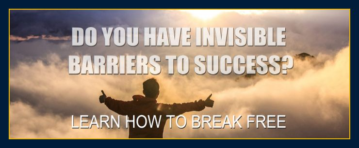Invisible barriers to success.