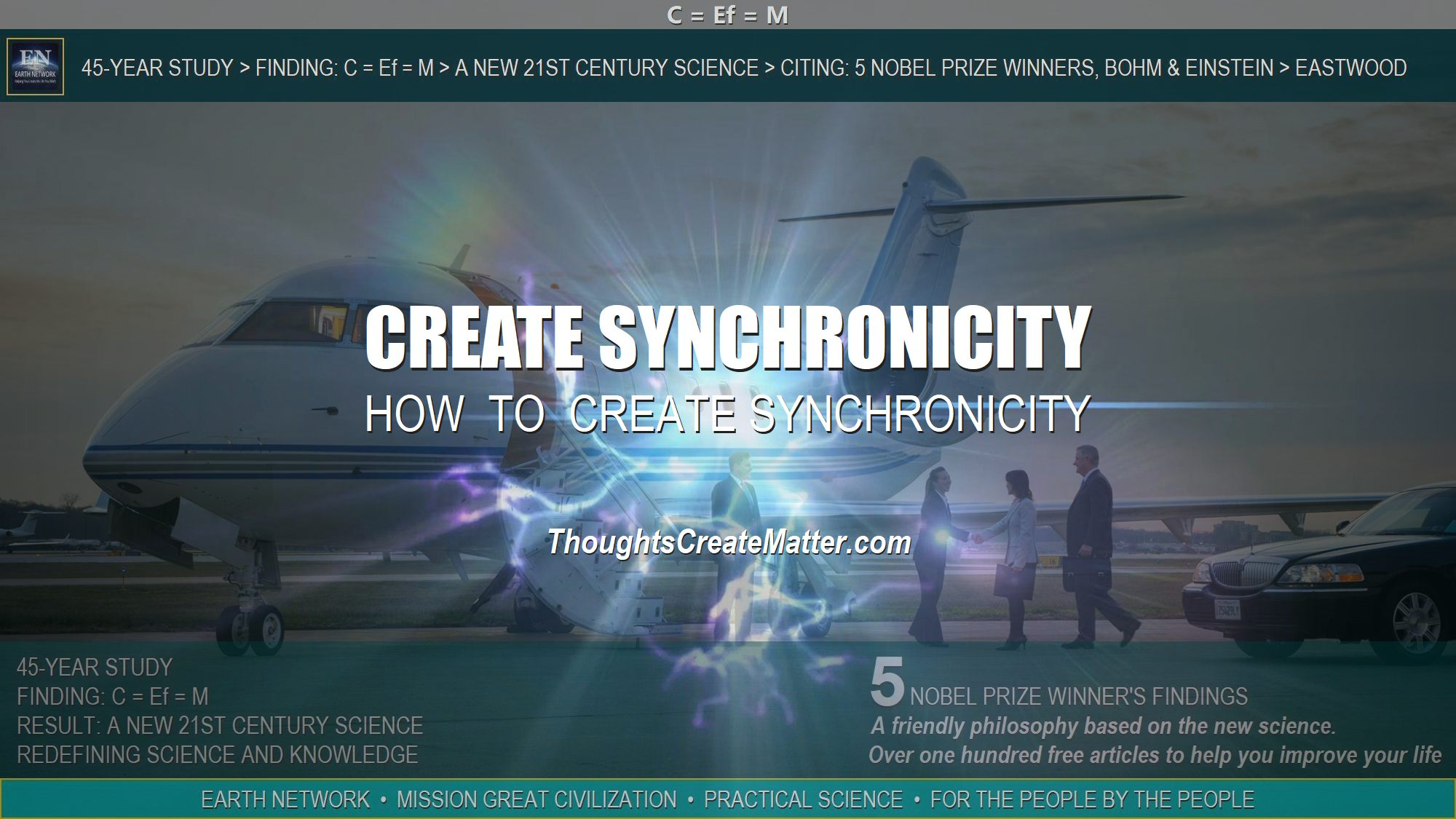 People getting on jet know how-to-use-thoughts-to-create-synchronicity-your-mind-can-cause-good-luck-coincidence-fortune