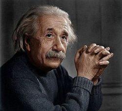 Albert Einstein thoughts create matter physical illusion