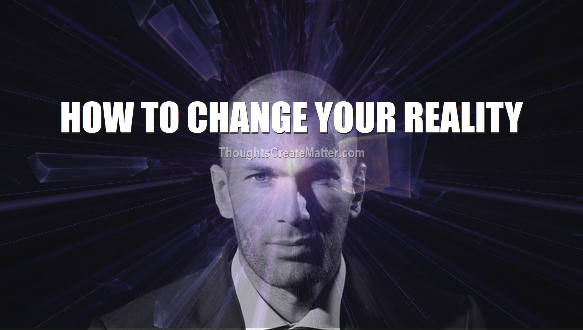 Man depicts how your-beliefs-thoughts-emotions-create-your-reality-how-to-change-your-reality-life-experience