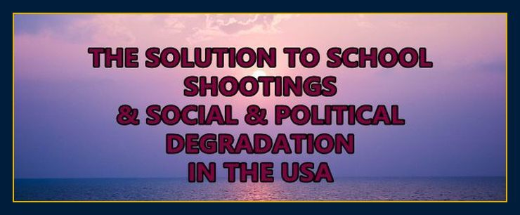 The solution to violence and school shootings
