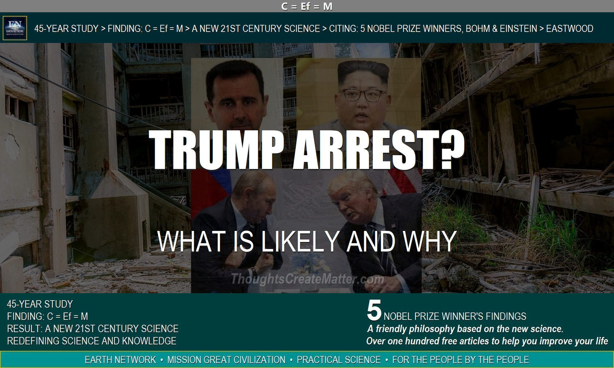 Trump's alliances makes one wonder. Will Trump be arrested and charged with sedition?
