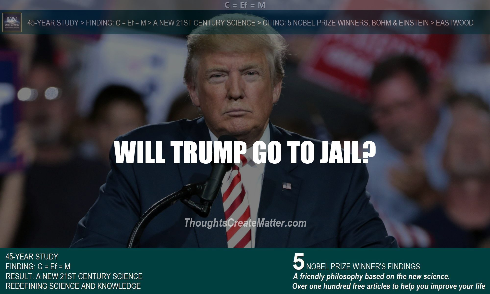 Trump frowning begs the question will trump go to jail? What is the underlying cause of problems and extremism? Will indictment and charges lead to possible prison time?