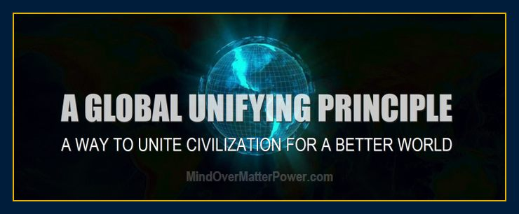 The new science will be the unifying principle to unite civilization.