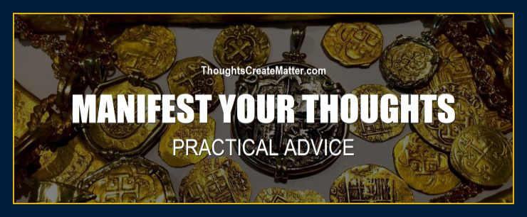 Pirate treasure depicts fact how you can manifest your positive thoughts