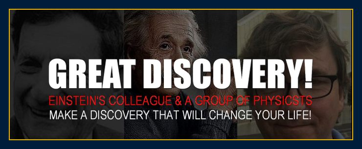 Einstein's friends make the greatest news and scientific discovery ever