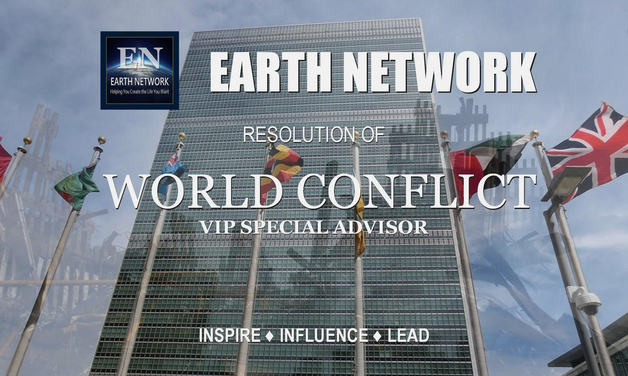 World conflict resolution. VIP consultant. Advise on matters of importance. William Eastwood